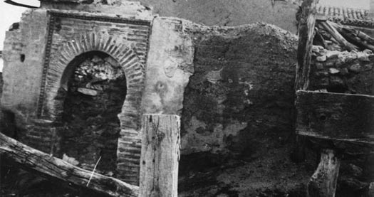 Arco mudéjar en Villavieja