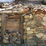 Entrada tapiada en Villavieja del Lozoya