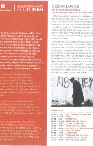 Exposición Cesar Lucas