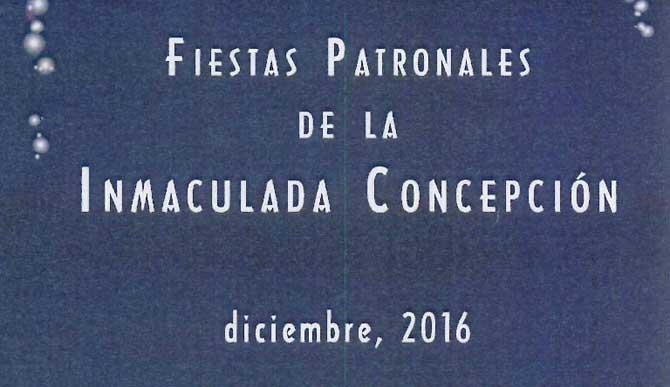 Fiestas de la Patrona Inmaculada