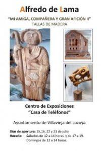 Exposición Tallas de madera